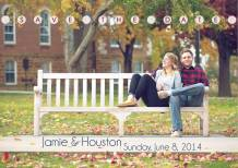 Custom Save the Date postcard design