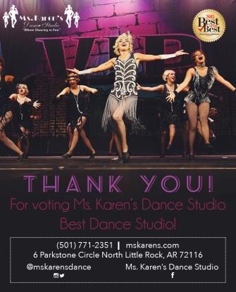 Ms. Karen's Dance Studio advertisement for website and social media