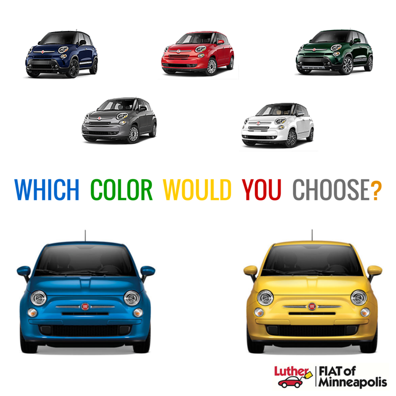 Social media graphic for Fiat of Minneapolis